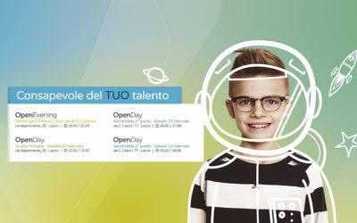 Collegio Volta Lecco open day gennaio 2018
