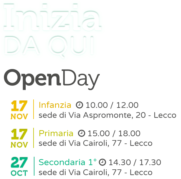 OpenDay2018 Medie