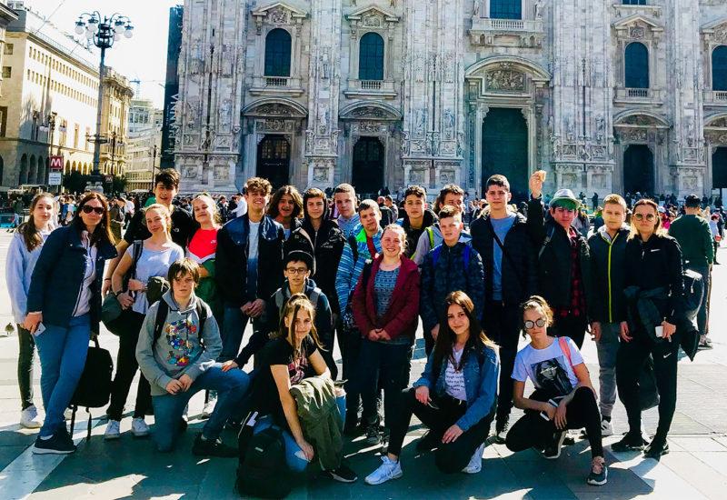 Intercultura 2019 milano duomo italia serbia scambio culturale